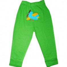 Pantaloni Carters verzi cu model avion