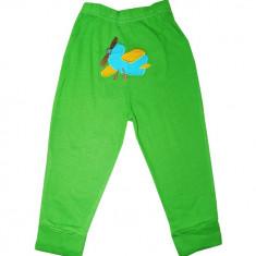 Pantaloni Carters verzi cu model avion, Marime: 9-12 luni