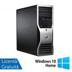 Statie Grafica Refurbished Dell Precision T3500, Xeon Dual Core W3503, 2.40Ghz, 12GB DDR3, 2TB, DVD-RW, Nvidia Quadro 2000 1GB + Windows 10 Home