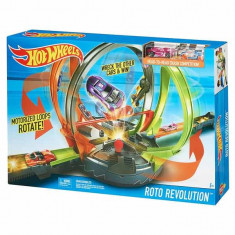 Jucarie Pista Hot Wheels Roto Revolution FDF26 Mattel