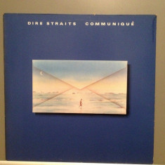 DIRE STRAITS - COMMUNIQUE (1979/VERTIGO/RFG) - Vinil/Analog/Impecabil (NM) - Muzica Rock Phonogram rec