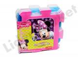 Covor din burete tip puzzle cu  Minnie Mouse si Daisy