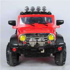 Masinuta Electrica Jeep cu Telecomanda Rosu - Masinuta electrica copii