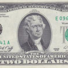 Bancnota Statele Unite ale Americii 2 Dolari 1976 (