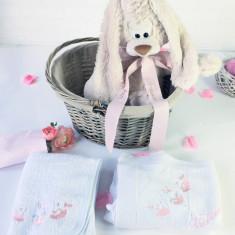 The Honey Bunny Gift Basket – Set cadou nou nascut personalizat Iepuras cu Jucarie