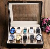 Cutie ceasuri ceastea ceasuri Depozitare 10 CEASURI  Cutie organizare 10 ceasuri