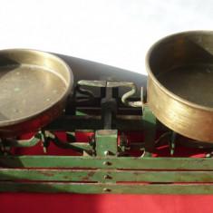 CANTAR VECHI DE COLECTIE CU TASURI DIN ALAMA - Cantar/Balanta