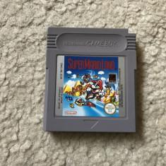 Joc Nintendo Game Boy Super Mario Land in limba engleza, testat, ok - Jocuri Game Boy