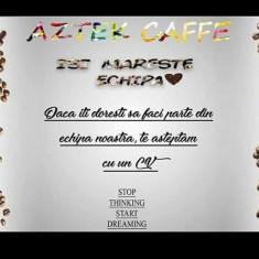 Aztek Caffe face angajări barman/ospătar