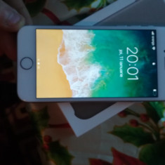Telefon iPhone Apple 8 silver, Gri, 64GB, Orange