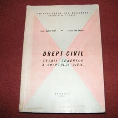 Drept civil - Teoria generala a dreptului civil - Aurel Pop, GH.Beleiu - Carte Drept civil