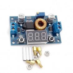 Modul sursa reglabila 1V-37V 5A XL4015E cu protectie temperatura si scurtcircuit
