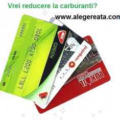 Colaborare online, card de reducere carburanti
