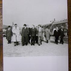 GHEORGHE GHEORGHIU-DEJ, NICOLAE CEAUSESCU, PAUL NICULESCU-MIZIL SI PETRE BORILA - FOTOGRAFIE ORIGINALA - Harta Europei