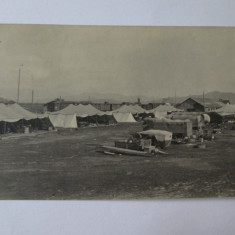 Foto colectie 140 x 90 mm corturi militare de campanie din anii 30