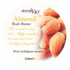 Body Butter - Almond - Crema de corp Derma V10