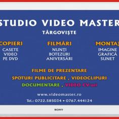 Copiez casete video pe DVD / stick USB Sony