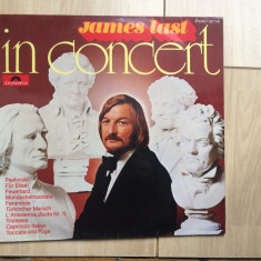 James last In Concert disc vinyl lp Muzica Pop Polydor clasica vest germany 1972, VINIL