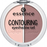 Contouring Eyeshadow SET - 3 nuante, Essence