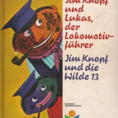 Michael Ende - Jim Knopf und Lukas, der Lokomotivfuhrer - 1962 - Carte de povesti