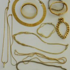 Diverse gablonturi aurii vintage