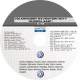 SKODA VW DVD Harti Navigatie VOLKSWAGEN RNS 510 COLUMBUS EUROPA  ROMANIA 2017