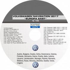SKODA VW DVD Harti Navigatie VOLKSWAGEN RNS 510 COLUMBUS EUROPA ROMANIA 2017 - Software GPS