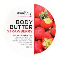 Body Butter - Strawberry - Crema de corp Derma V10