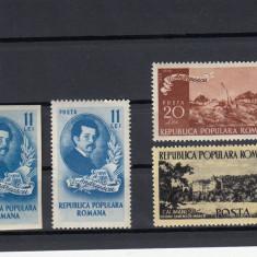 ROMANIA 1950, LP 262, CENTENARUL NASTERII LUI I. ANDREESCU SERIE MNH - Timbre Romania, Nestampilat