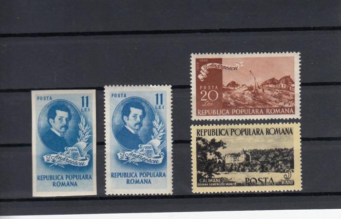 ROMANIA  1950  LP 262   CENTENARUL NASTERII LUI I.  ANDREESCU  SERIE  MNH