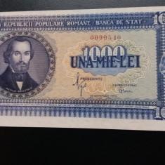 Bancnote romanesti 1000lei 1950aunc plus fara pliuri - Bancnota romaneasca
