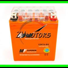 BATERIE Atv 7AH 7A 12V 7 Amperi INALTA cu GEL fara intretinere - Baterie Moto