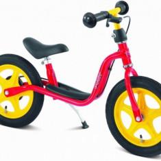 Bicicleta fara pedale cu frana 87 x 34 cm LR1 Br Rosu Puky - Bicicleta copii