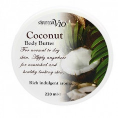 Body Butter - Coconut - Crema de corp Derma V10