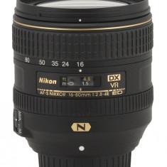 Nikon AF-S DX NIKKOR 16-80mm f/2.8-4E ED VR (white box) nou - Obiectiv DSLR