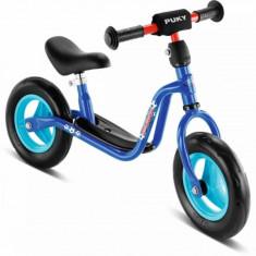 Bicicleta fara pedale 73 x 29 cm LRM Albastru Puky - Bicicleta copii