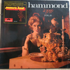 James last seine hammond bar combo a gogo vol II disc vinyl lp Muzica Pop Polydor jazz, VINIL