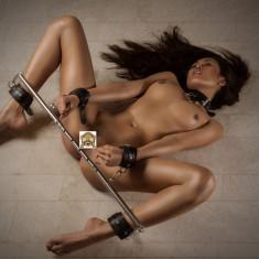 Wrist and Ankle Bondage Restraint Bara Spreader Catuse Glezne Picioare Maini
