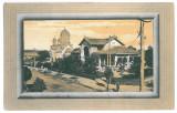 4220 - CALAFAT, Dolj, Church - old postcard - unused, Necirculata, Printata