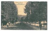 4217- RM. VALCEA, Ave. T. Vladimirescu - old postcard, CENSOR - used - 1917