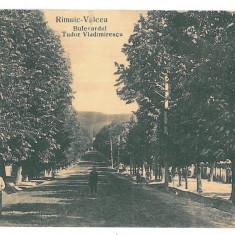 4217- RM. VALCEA, Ave. T. Vladimirescu - old postcard, CENSOR - used - 1917 - Carte Postala Oltenia 1904-1918, Circulata, Printata