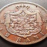 Moneda istorica 2 Bani - ROMANIA, anul 1882 *cod 593 - Moneda Romania