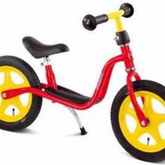 Bicicleta fara pedale 87 x 34 cm LR1 Rosu Puky - Bicicleta copii