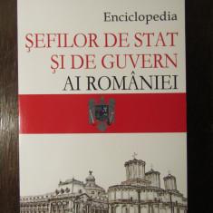 Enciclopedia sefilor de Stat si de Guvern Ai Romaniei - Nicolae C.Nicolescu