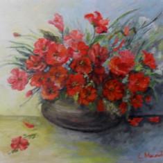 Flori 21-pictura ulei pe panza;