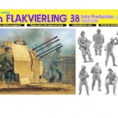 + Kit 1/35 Dragon 6547 - 2 cm Flakvierling 38 Late Production w/crew  +