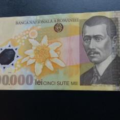 Bancnote romanesti 500000lei ghizari xf - Bancnota romaneasca