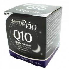 Derma V10 Tech Solutions - Crema regeneranta de noapte - Crema de noapte