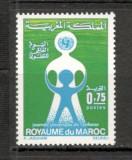 Maroc.1972 Ziua mondiala a copilului  MM.214