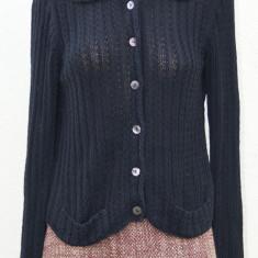Jerseu / pulover marca de lux Zanone, marimea 46 IT - Pulover dama, Marime: M/L, Culoare: Negru